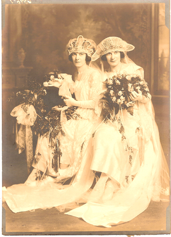 Dolores and Adeline Double Wedding