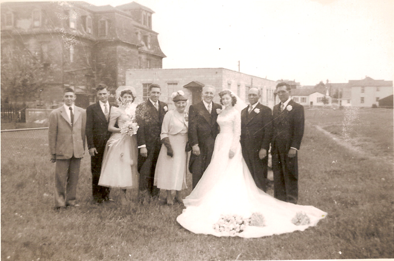 Jean Paul and Doris (Harrison)  Audette wedding 1