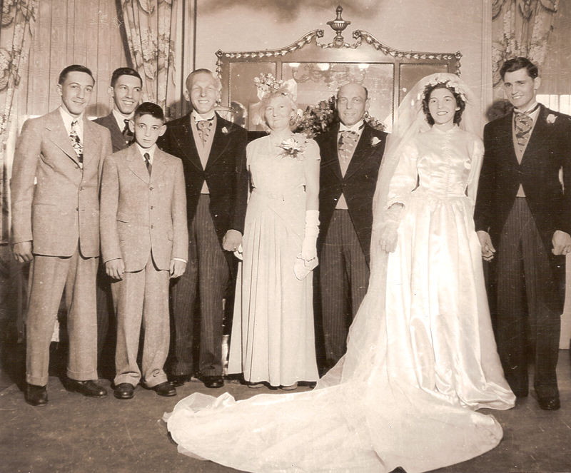 Marcelle And Normand Chartier wedding Family Pic 1