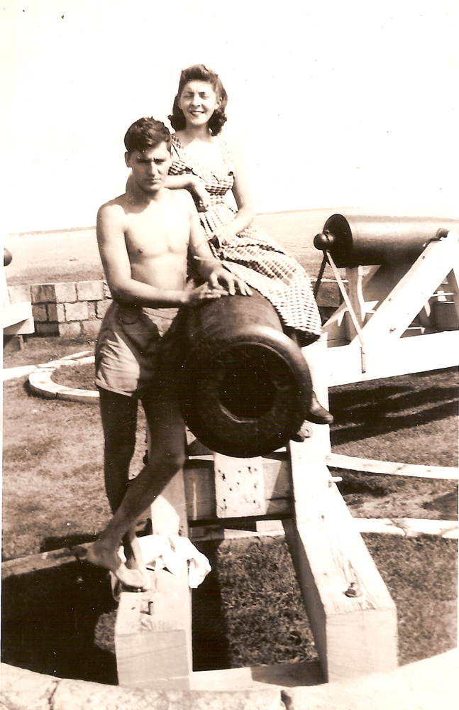 Normand And Marcelle Chartier late 40's Fort Phoenix